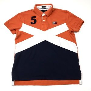 Tommy Hilfiger Polo Rugby Shirt Custom Fit